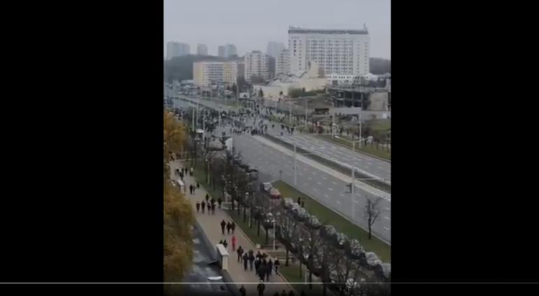 В Минске начались задержания на акции протеста