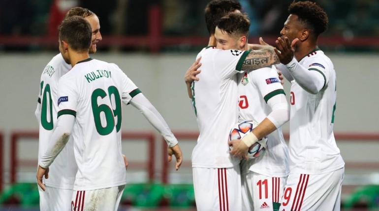 «Локомотив» сыграл вничью с «Атлетико» в матче Лиги чемпионов