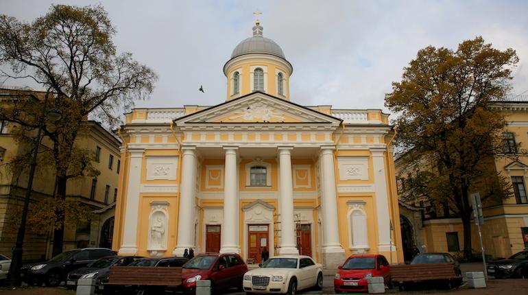 С фасадов лютеранского храма Святой Екатерины сняли леса