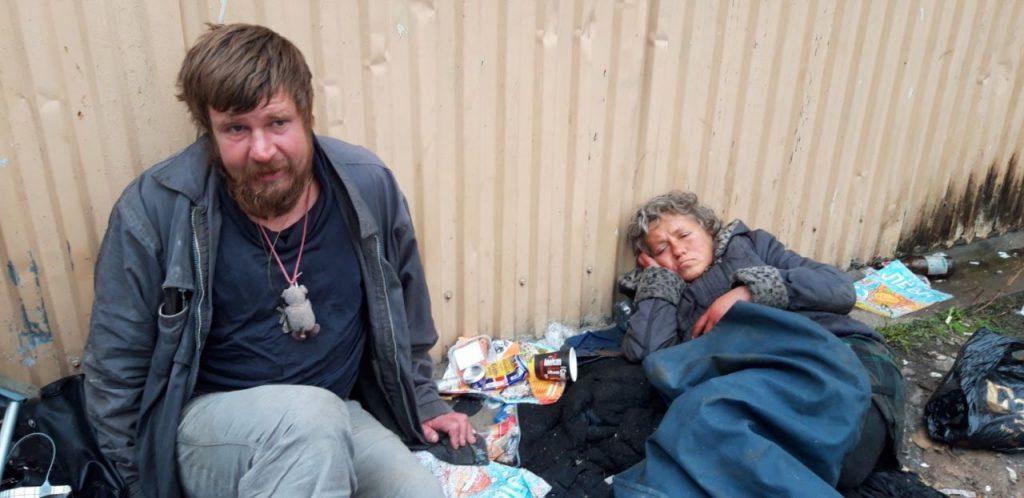 Бездомные Петербурга: потерявшие всё в поисках лучшей жизни в мегаполисе