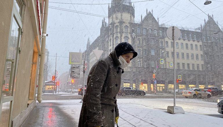 В Петербурге ожидается снег и оттепель, 60 лет назад было еще теплее