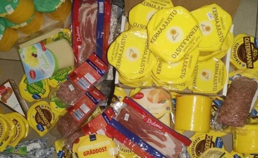 В Петербурге изъяли 65 кг санкционных продуктов