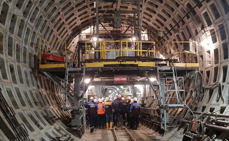 «Петровна» начала проходку тоннеля от «Театральной» до «Спасской»