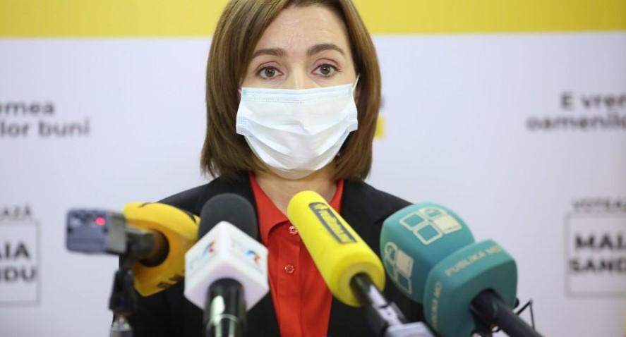 Майя Санду назвала несправедливым долг Молдавии перед Газпромом