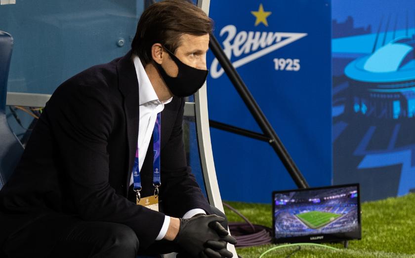 «Зенит» пропустил мяч в матче с «Лацио»