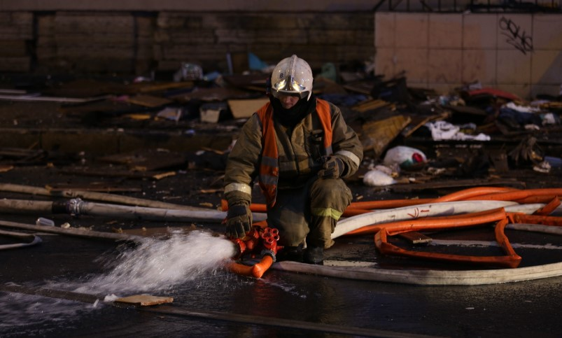 В Гатчине у владельца домашней наркоплантации загорелась кухня