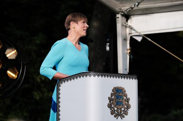 Кальюлайд осудила высказывания министров Эстонии о выборах в США