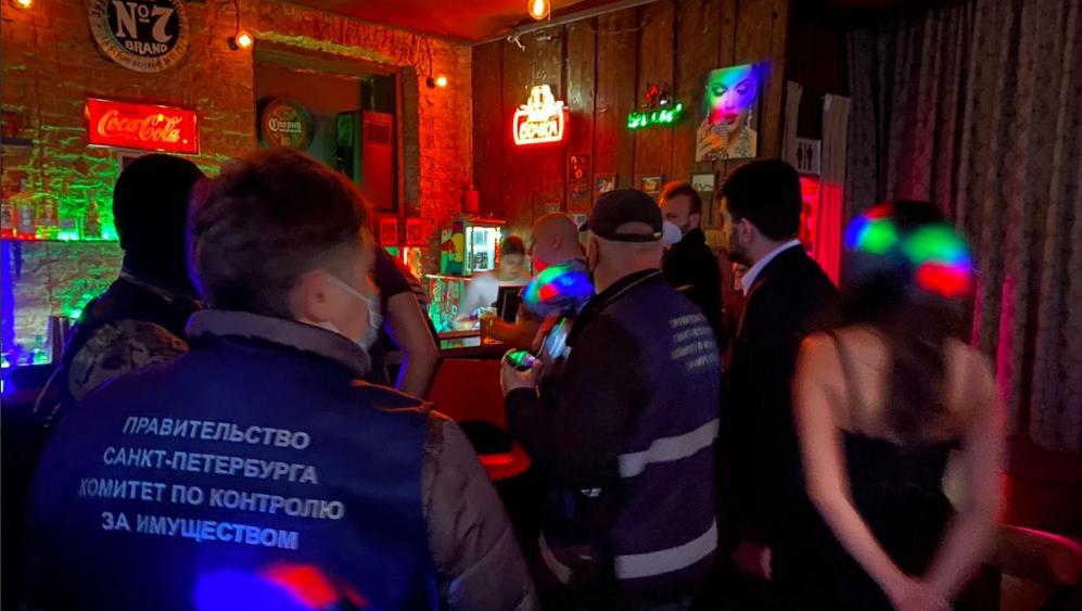 В Петербурге выявили 17 баров нарушивших ночной запрет на работу общепита