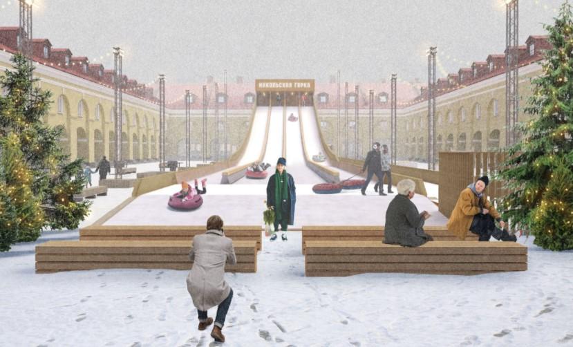 На территории «Никольских рядов» хотят возвести смотровую башню