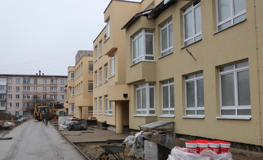 В Пушкине до новогодних праздников достроят новый детский сад