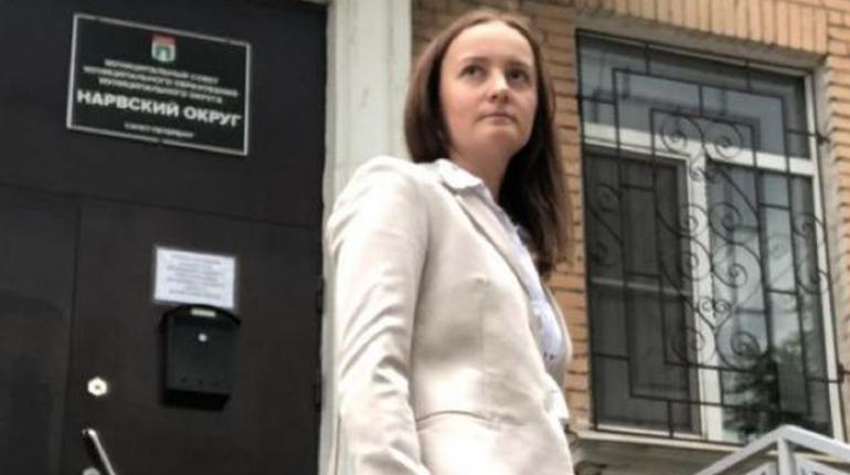 Депутата Каруличеву из МО «Нарвский округ» лишили мандата