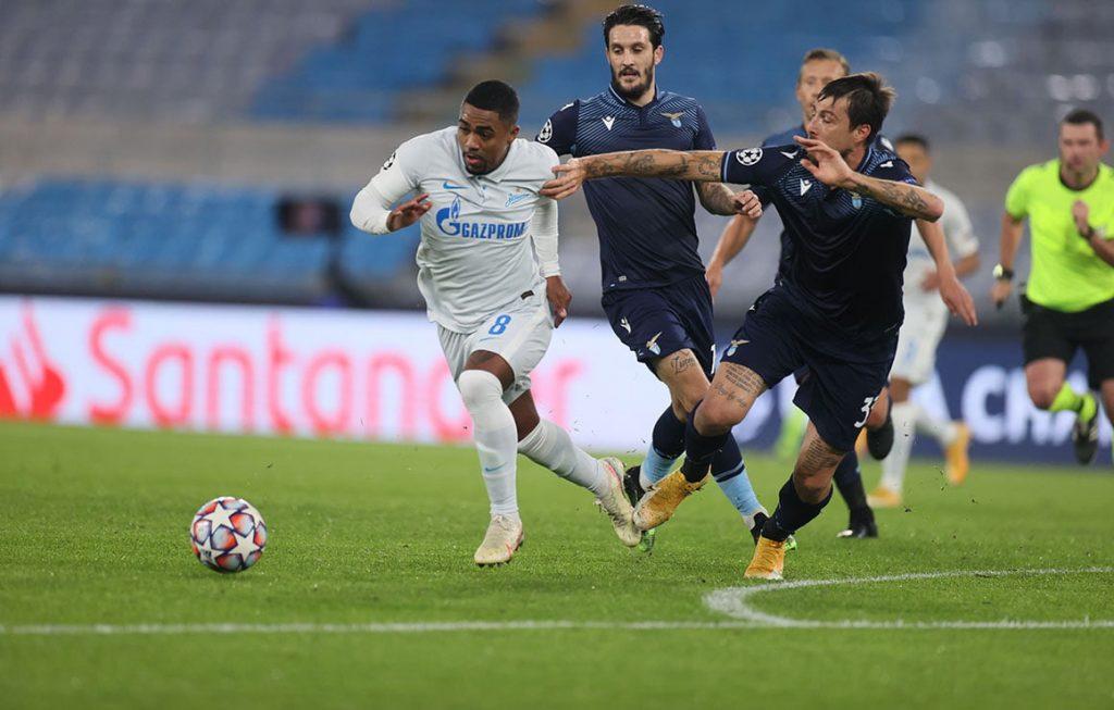 «Зенит» проиграл «Лацио» и потерял шанс на выход в плей-офф ЛЧ