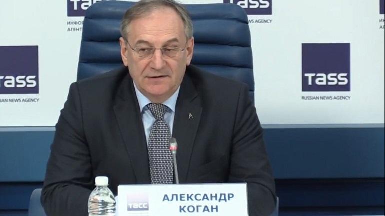 Коган назвал разговоры о проведении предолимпийского чемпионата в Петербурге неофициальными