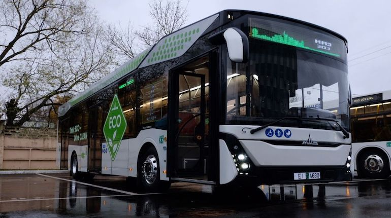 Новый электроавтобус появится в Петербурге в декабре