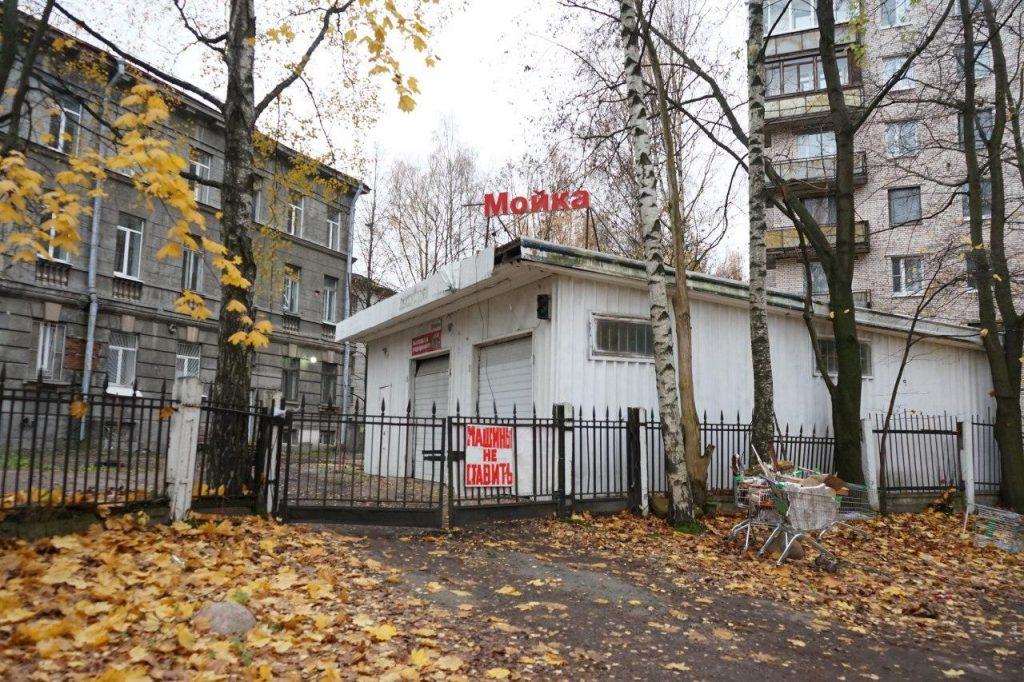 Фоторепортаж Мойки78: здание ВНИИБ приготовилось к сносу