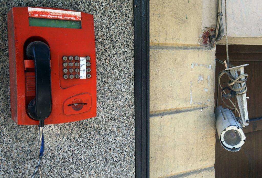 Для петербуржцев в городе установлено 399 бесплатных таксофонов