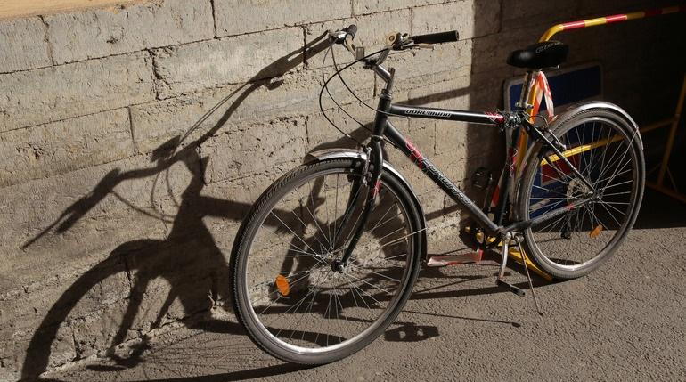 На набережной Обводного канала сбили ребенка на велосипеде