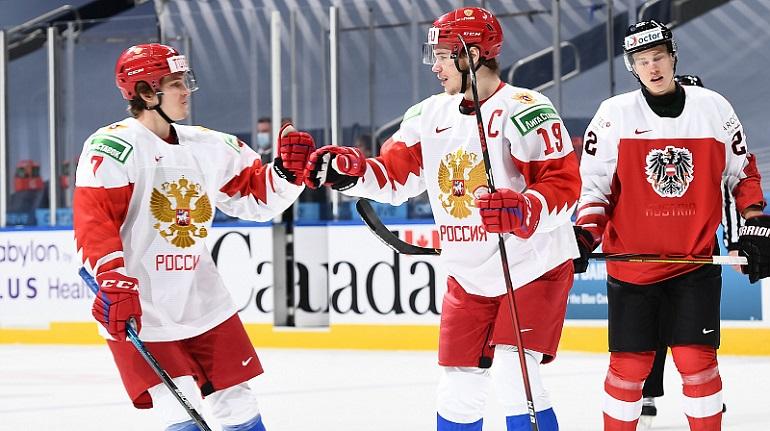 Сборная России по хоккею сыграет с Германией в четвертьфинале МЧМ-2021
