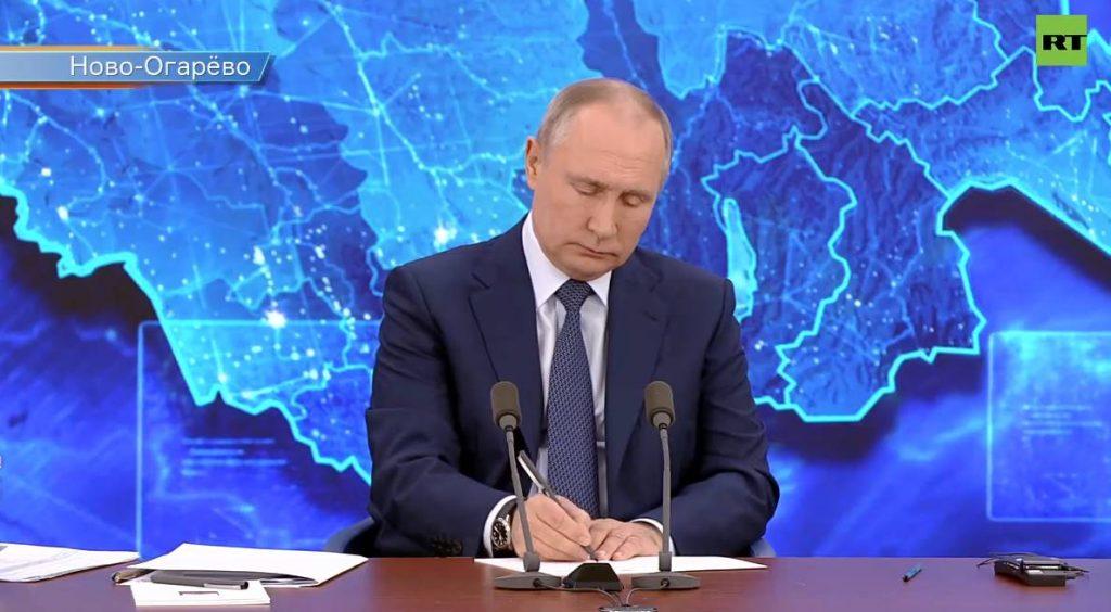 Путин – о Навальном: если бы хотели убить, довели бы до конца