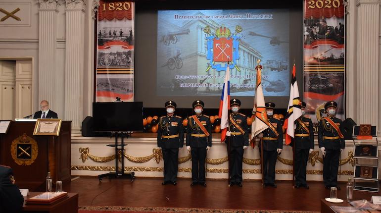 В Петербурге отпраздновали 200-летие Михайловской военной артиллерийской академии