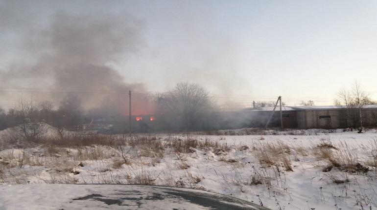 Пожар во Всеволожском районе привел к возбуждению уголовного дела