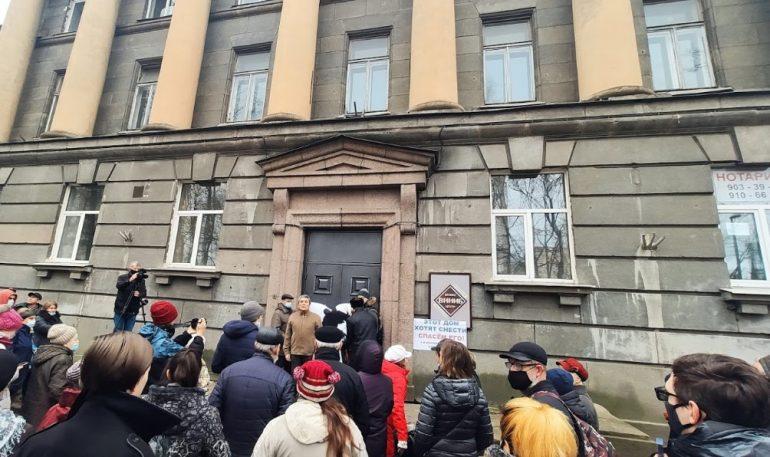 Депутаты попросили отозвать жалобу Госстройнадзора на запрет сноса здания ВНИИБ