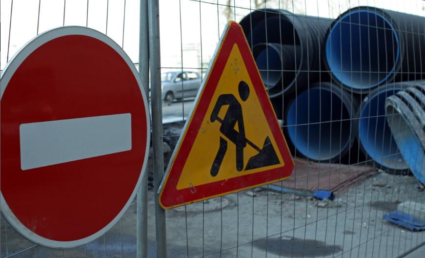 Пулковское шоссе и Парашютную улицу перекроют из-за ремонтных работ