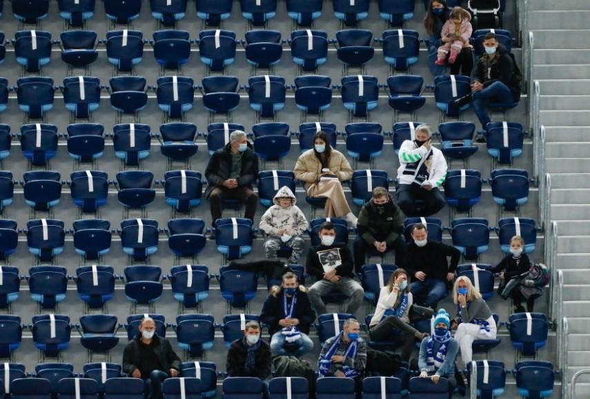 Петербургская элита будет смотреть матч «Зенит»-«Динамо» с трибун стадиона
