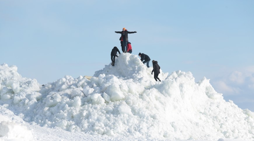 «Снежные» пункты в Петербурге утилизировали полуторамиллионный кубометр снега