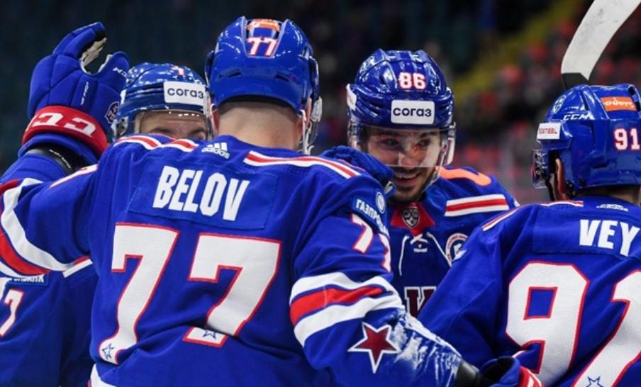 СКА встретится с «Локомотивом» в чемпионате КХЛ