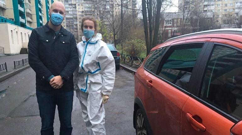 Автоволонтёры Петербурга помогли врачам более 3,7 тысяч раз