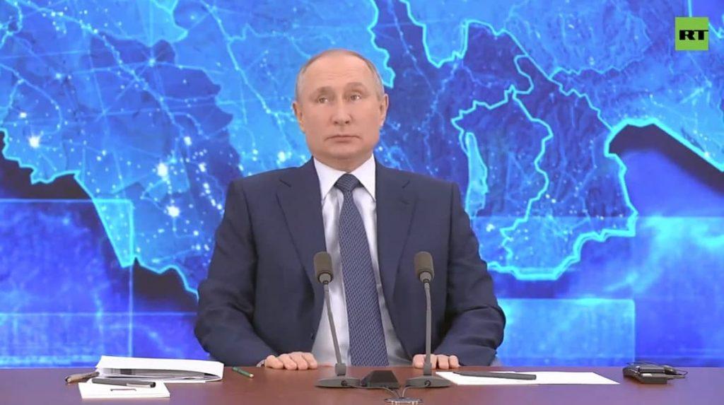 Путин рассказал о падении ВВП на 3,6%