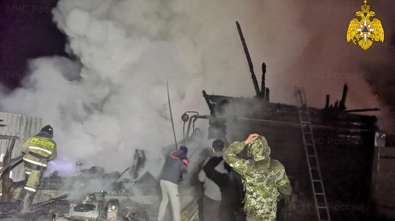 11 человек погибли при пожаре в пансионате в Башкирии