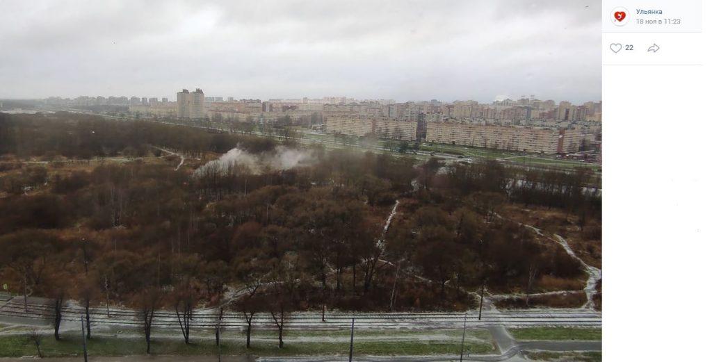 Полежаевский парк пугает петербуржцев трупами, насильниками и запущенностью