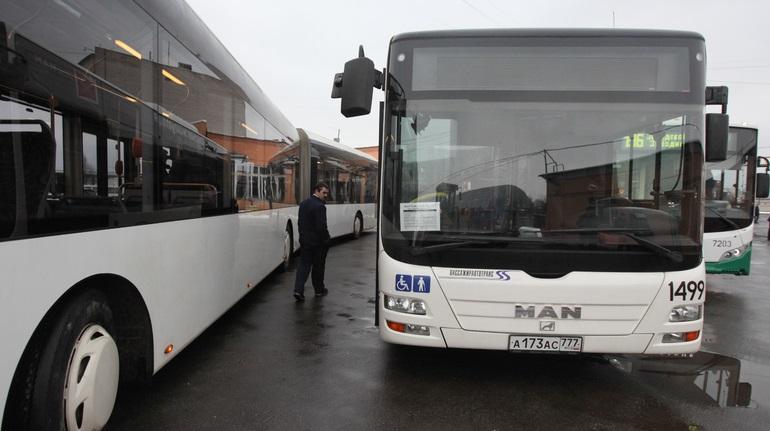 Автобусы соединят западный Мурино и станцию «Проспект Просвещения»