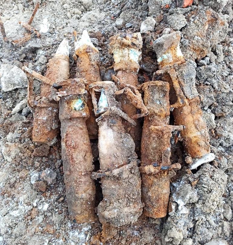 В Выборгском районе обезвредили артиллерийский снаряд времён Великой Отечественной войны