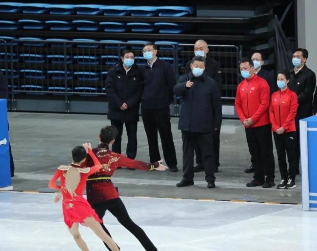 Си Цзиньпин посетил спортивные объекты Зимних Олимпийских и Паралимпийских игр 2022