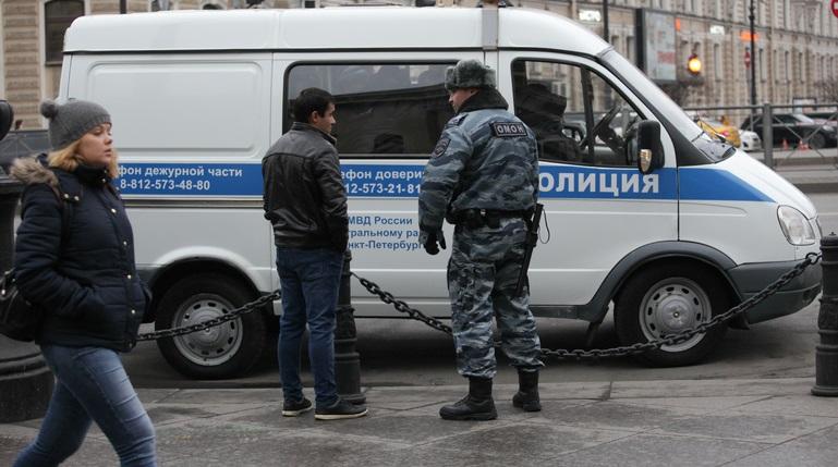 Петербуржец получил 1,5 года условно за нападение на полицейских на январском митинге