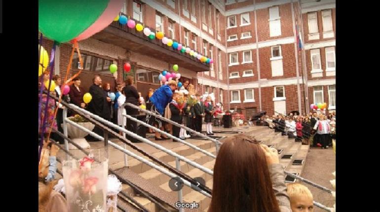 На Латышских стрелков потушили пожар в школе