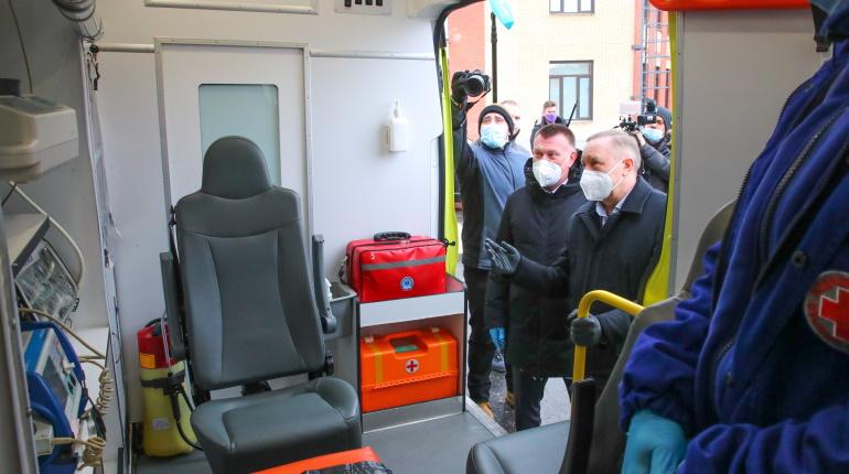 Пушкин получит пять новых машин скорой помощи в этом году
