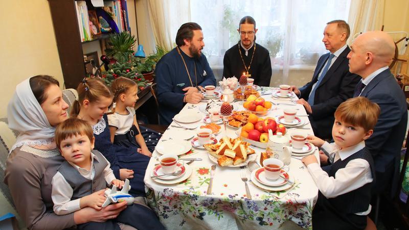 В Петербурге выросло число многодетных семей