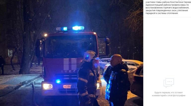 При пожаре на Будапештской погиб мужчина