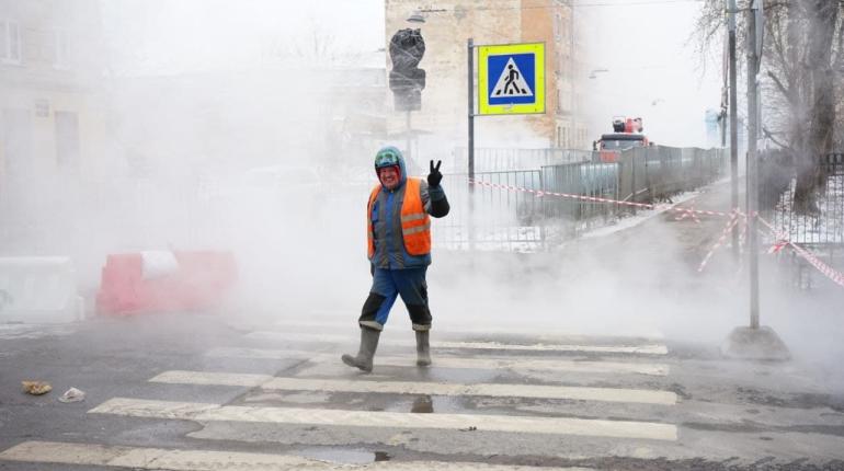 С начала года в Петербурге теплосети прорвало 135 раз