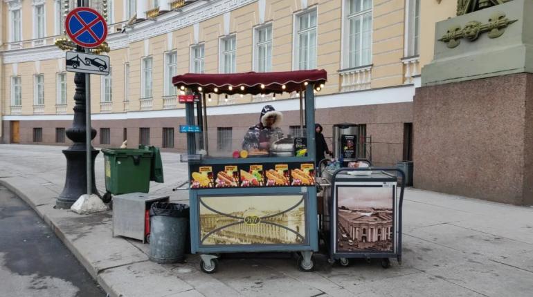 ККИ спас Дворцовую от незаконного ларька с хот-догами
