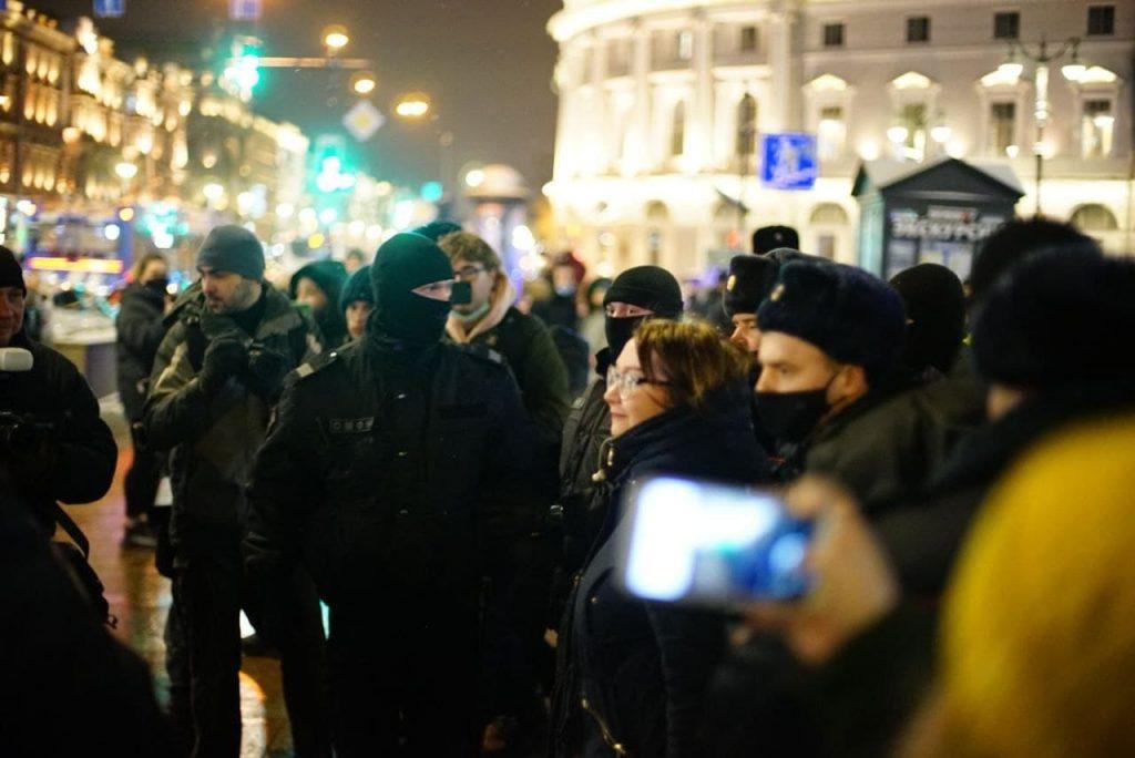 Митинги в защиту Навального лишили градозащитников возможности постоять у Смольного