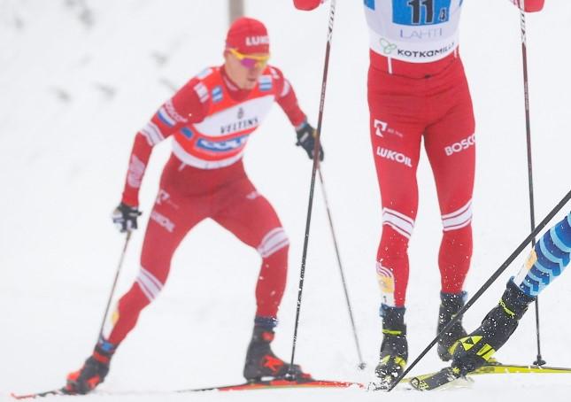 Российских лыжников дисквалифицировали с Кубка мира в Лахти