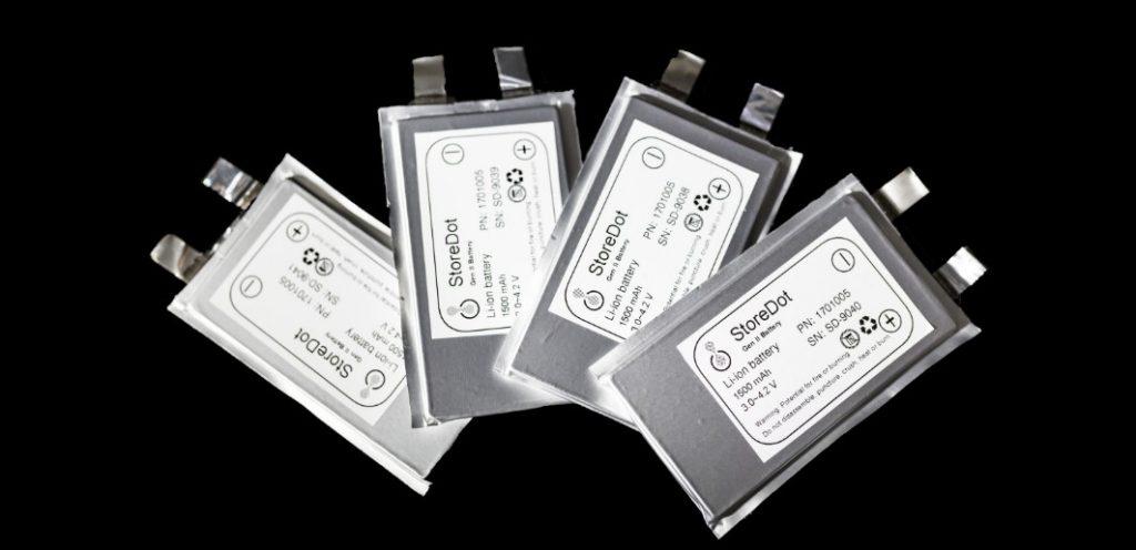 Компания StoreDot выпустила заряжающиеся за пять минут батареи для электрокаров