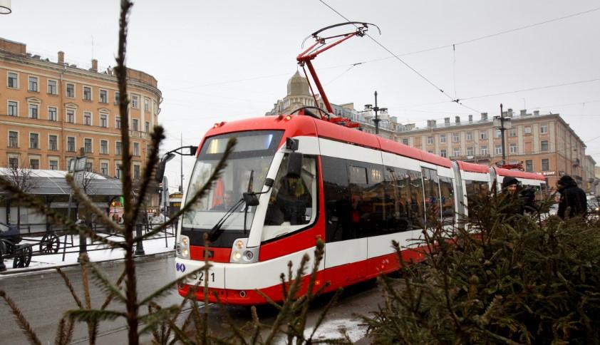 В Петербурге три трамвая и троллейбус до апреля изменят маршруты
