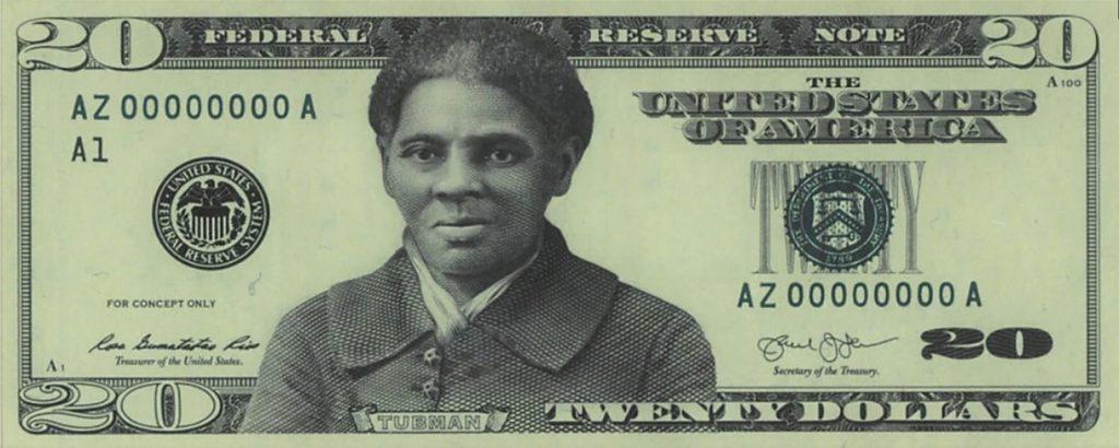 В США на 20-долларовой купюре появится портрет борца против рабства