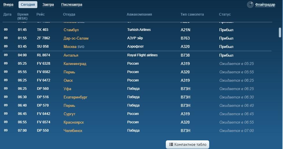 В субботу в аэропорте Пулково нет задержанных рейсов
